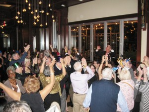 New Year's Eve 2014 at Cesco-Osteria CO2 Lounge in Bethesda